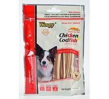Wanpy Dog pochúťka Chicken Cod Fish Sandwich 170g