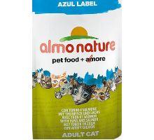 Almo Cat Nat.mačka kaps Azul Label tuniak + losos 70g