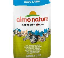 Almo Cat Nat.mačka kaps Azul Label tuniak + losos 70g